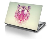 TaylorHe Laptop Skin Sticker Geometric Tiger