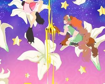 Yurikuma Arashi 8x10 Print