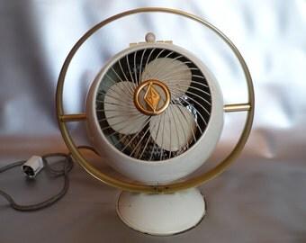 Vintage electric fan / heater straalkachel ventilator, Prometheus WHL 20 T,  1950s