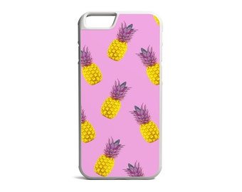 Pineapple Print, Tropical Print, Pineapple Case, Hawaiian Case, Rubber Bumper Case, iPhone Case, iPhone Cover, iPhone Bumper \ bc-pp011