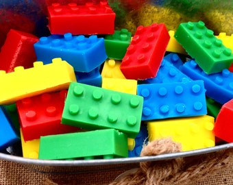 LEGO Bubblegum SLS Free shampoo & soap bar.