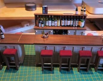 1/12th Scale Bar Set