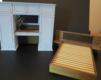 1/12th Scale Contemporary Bedroom Furniture