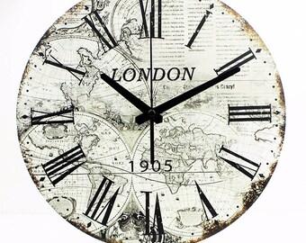 Vintage Wall Clock-London