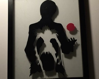 Anime Framed Art- Death Note