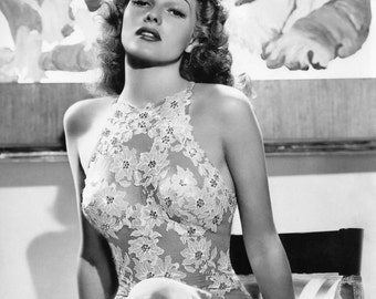 "Rita Hayworth in ""You Were Never Lovelier"" - 8X10 Publicity Photo (NN-050)"