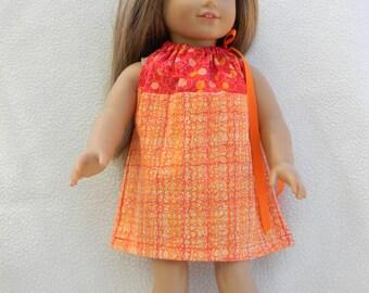 American Girl Doll Pillowcase Dress