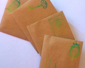 the envelope whith stamp