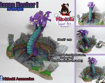 League Of Legends Baron Nashor ins its Pit Diorama