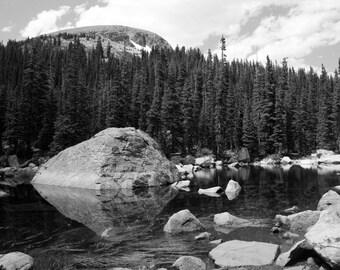 Rock Reflection - Colorado