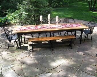 Harvest Table Windsor Dining Set