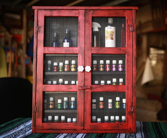 Items Similar To Essential Oil Cabinet Essential Oil