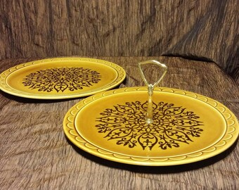Granada by Homer Laughlin, Coventry Castilian, Chop plate and Serving plate with handle set, free shipping