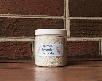 Oatmeal Lavender Bath Salts