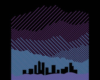 Purple Mountains Majesty Print