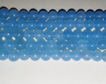SALE! Blue agate beads 4mm round beads round stone beads blue stone beads 4mm blue beads semiprecious stone semiprecious beads agate