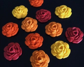 100 Fondant Fall Flowers