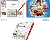 YoKai Watch Vinyl Skin Sticker for Nintendo DS liteDSiDSi xl3DS3DS xlNew 3DS cstickNew 3DS xl cstick2DS