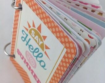 Mini Journal, Junk Journal, Smash Book Journal, Journal, Art Journal, Blank Book, Journal Book 3x4153