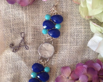 Blue Jewels in Time