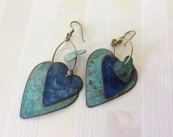 Nuovo Heart Earrings
