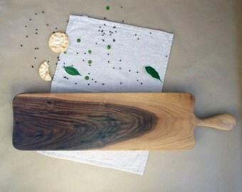 Walnut wooden Serving board / Cheese board / Cutting board / Handmade / Wood / Wedding gift