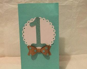 Boy first birthday goodie bags, first birthday goody bags, first birthday favor bags, 1st birthday goodie bags, boy 1st birthday favor bags,