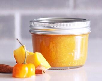 Organic Peach & Habañero Marmalade | Jam 8 fl. oz., Homemade
