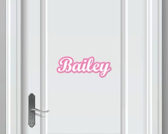 Personalized Name Sticker (infinite possibilities)