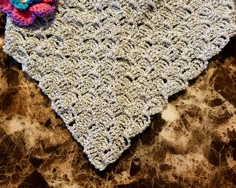 crochet head covering