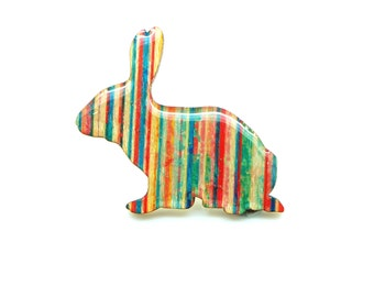 Rabbit Brooch - Verticals
