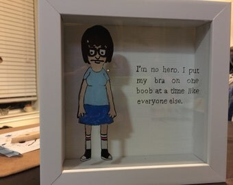 Custom Shadow Box Character Quotes
