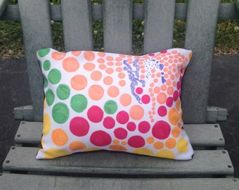 Colorful Dot Pillow