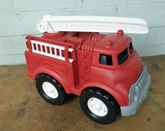 Green Toy Fire Truck