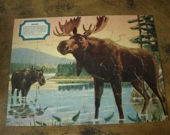 Tiny Tots Moose Puzzle