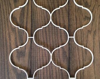 Aluminum lattice work