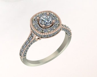 Beautiful One of a Kind Diamond ring