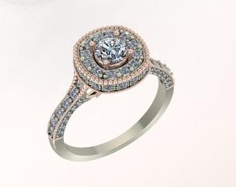 Beautiful One of a Kind Diamond ring