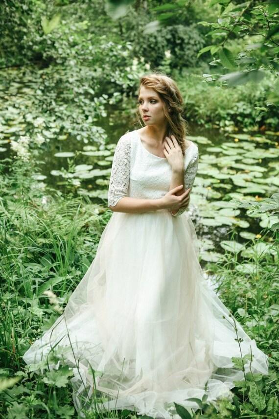 robe de mari e robe de mari e boh me romantique mariage robe. Black Bedroom Furniture Sets. Home Design Ideas
