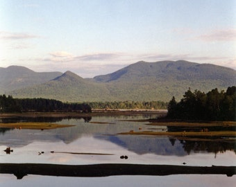 The Bitterroot Mountain Range
