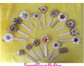 Flower Popsicle Stick Bookmark