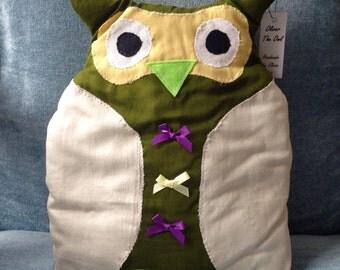 Oliver the Owl cushion