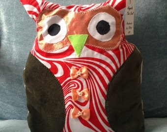 Angela the Owl cushion