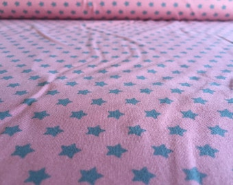 Star small pink/grey Jersey 50cm