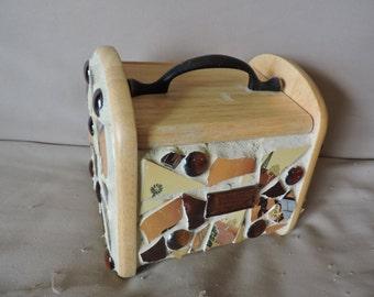Mosaic Recipe Box