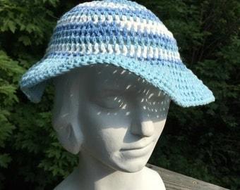 Cotton Crochet SunHat