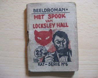 Old graphic novel comic book Cat series no 6: the ghost of Locksley Hall ... 1948