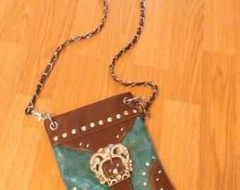 Boutique bag- embellished - nwot - Florida Boutique