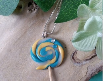Lollipop necklace