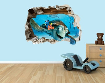 Finding Nemo 3D Effect Graphic Wall Vinyl Sticker Decal